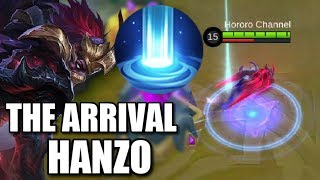 THE ARRIVAL HANZO IS THE ANGELA WANNABE