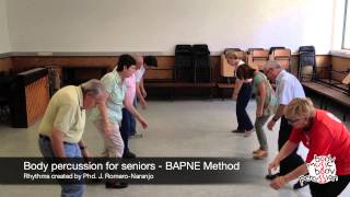 Body percussion for elderly people - BAPNE Method 2