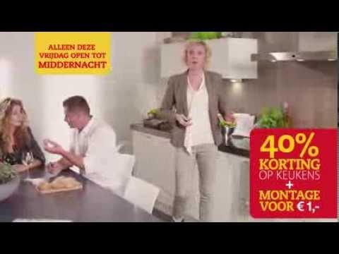 Koopnacht a s vrijdag korting op keukens montage u ac