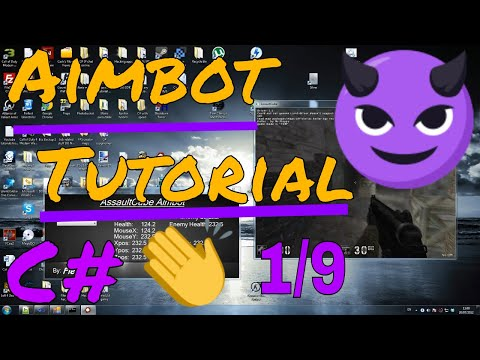 C# How to make an AIMBOT tutorial 1/9 HD