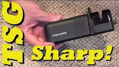 Fiskars Knife/Axe Sharpener review