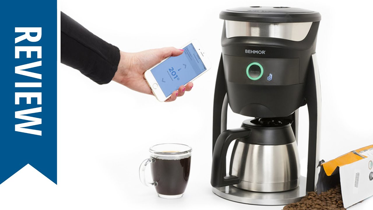 Behmor smart coffee maker review