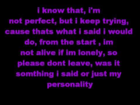 Perfect- Hedley (Lyrics)