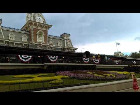 Walt Disney World railroad Roy O Disney.