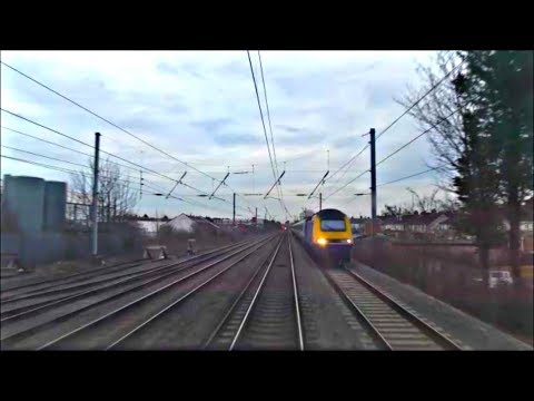 Nottingham to London St Pancras, Drivers Eye View | Class 43 HST!