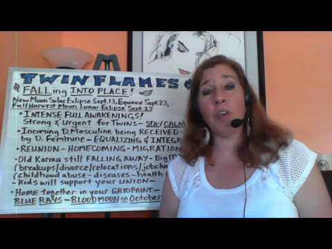 TWIN FLAMES- New MOON ENERGIES & FALLING INTO PLACE