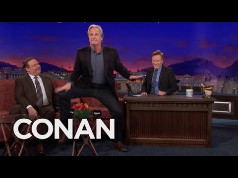 Jeff Daniels On The Dance That Launched His Acting Career   CONAN on TBS