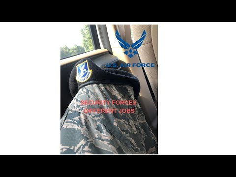 Different Jobs Inside The USAF SECURITY FORCES Career Field!!!
