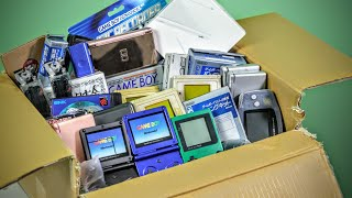 Unboxing $500 of Japanese GameBoys!