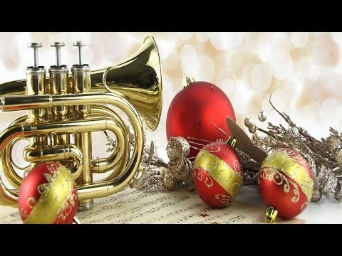 50 traditional trumpet Christmas carols - Christmas instrumental music -Christmas background music