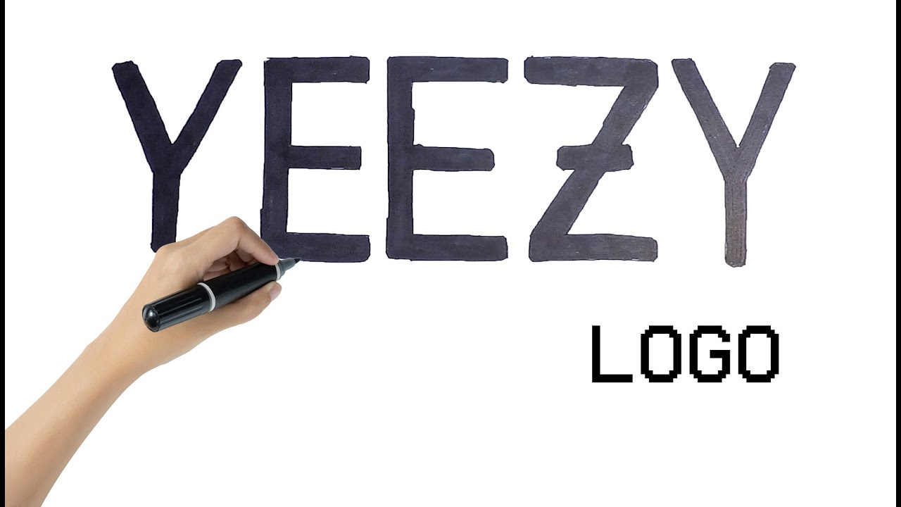 How to Draw the Yeezy Logo 👟