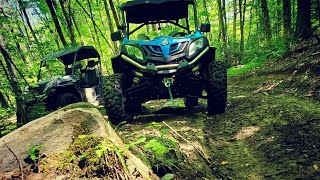 CFMOTO 1000 SXS: Rocks, Hills and High Speed Runs - Ompah Trails (CFMOTO Canada)