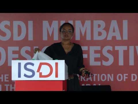 Bandana Tewari - ISDI Mumbai Design Festival 2015