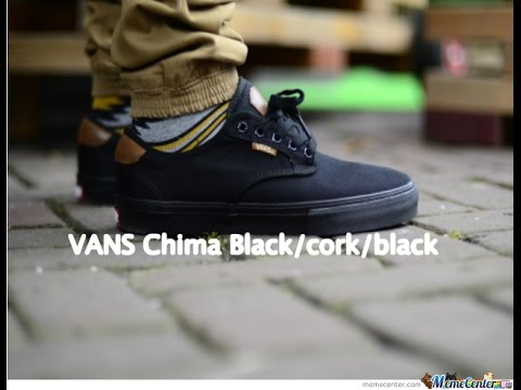 0ef4228aebe1b2 Vans Chima Ferguson Pro black cork on foot review (1080p) Skate Shoe  Review 1