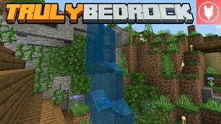 Truly Bedrock SMP: Episode 7 - Terraforming the Waterfall
