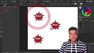 Affinity Designer 1.5: Symbole