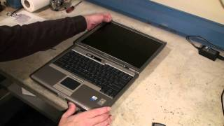 Dell Latitude d610 CPU & Memory Upgrade Video #2