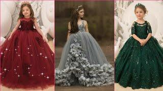 Party wear | kids Gowns | Long Frock Designs | kids Dresses ideas