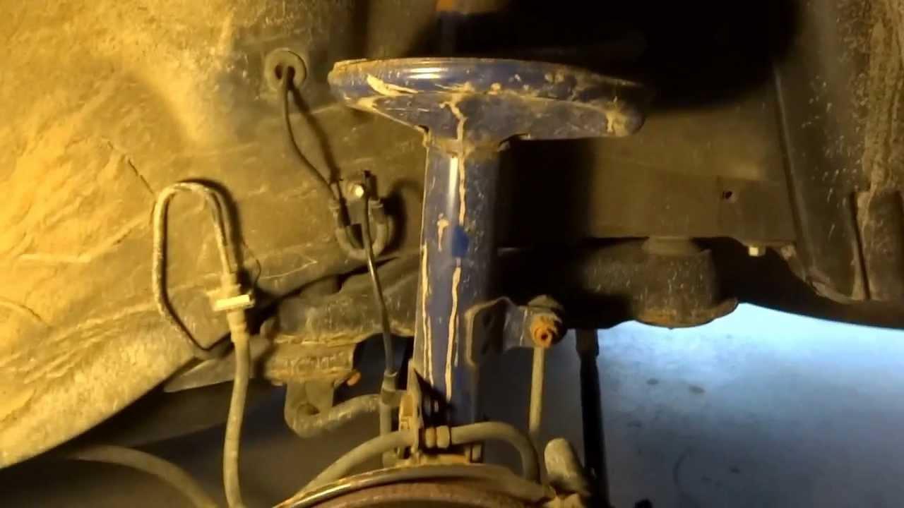 FixingReplacing ABS speed sensors (Toyota Camry 1999)  YouTube
