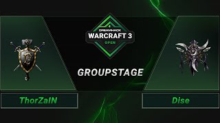 WC3 - ThorZaIN vs. Dise - Groupstage - DreamHack WarCraft 3 Open: Summer 2021 - Europe