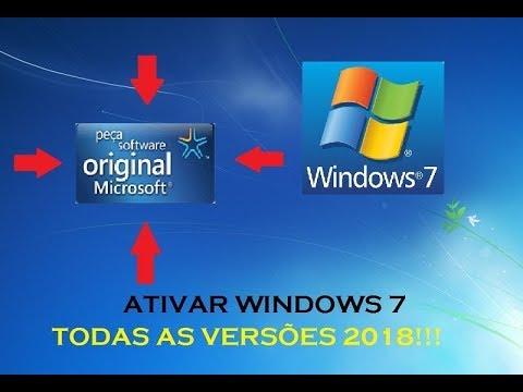ativação windows 7 cmd