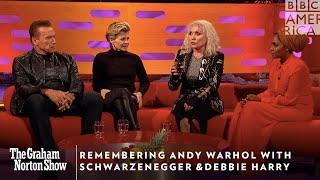 Schwarzenegger & Debbie Harry Remember Warhol | The Graham Norton Show | Friday 11pm | BBC America