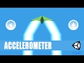 Unity Mobile Game - Accelerometer - 16 - Android & iOS [C#][Tutorial]