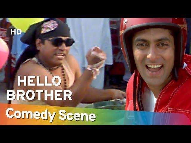 Hello Brother - Jhonny Lever - जॉनी लीवर की हिट कॉमेडी - Hit Comedy Scene -Shemaroo Bollywood Comedy