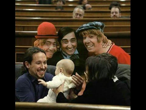 HUMOR POLITICO ESPAÑOL 2017 – Reparto de escaños Congreso de los Diputados Videos de risa de podemos