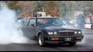 1986 Buick Grand National Tears up the Strip: ScoJack @ the Track!