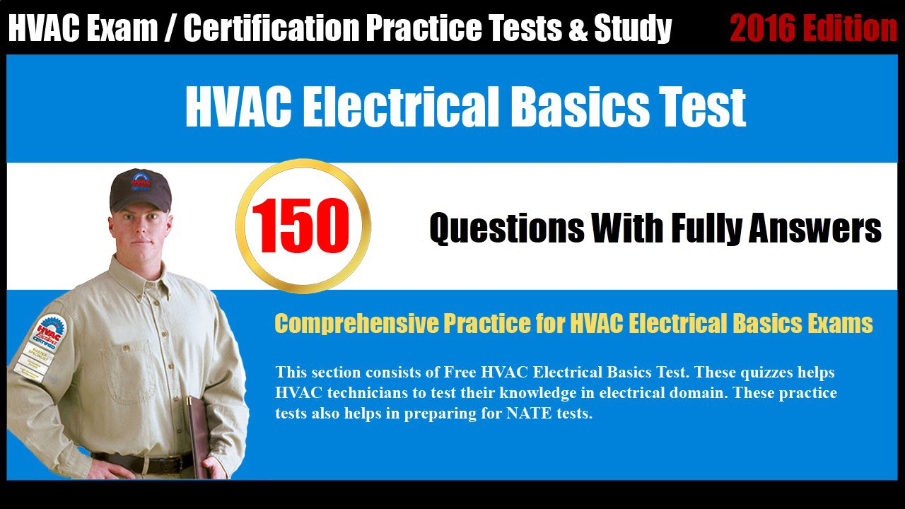 Hvac electrical basics practice test youtube xflitez Image collections