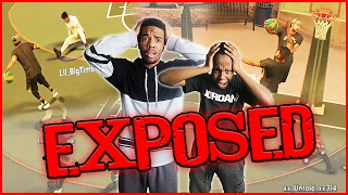 NBA 2K17 MyPark - WOW! THEY GOT EXPOSED!