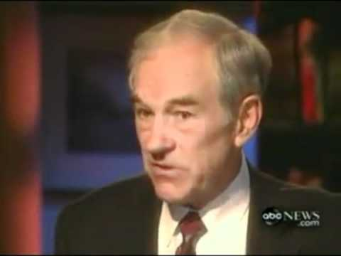 Ron Paul - The Role Of  The Federal Government
