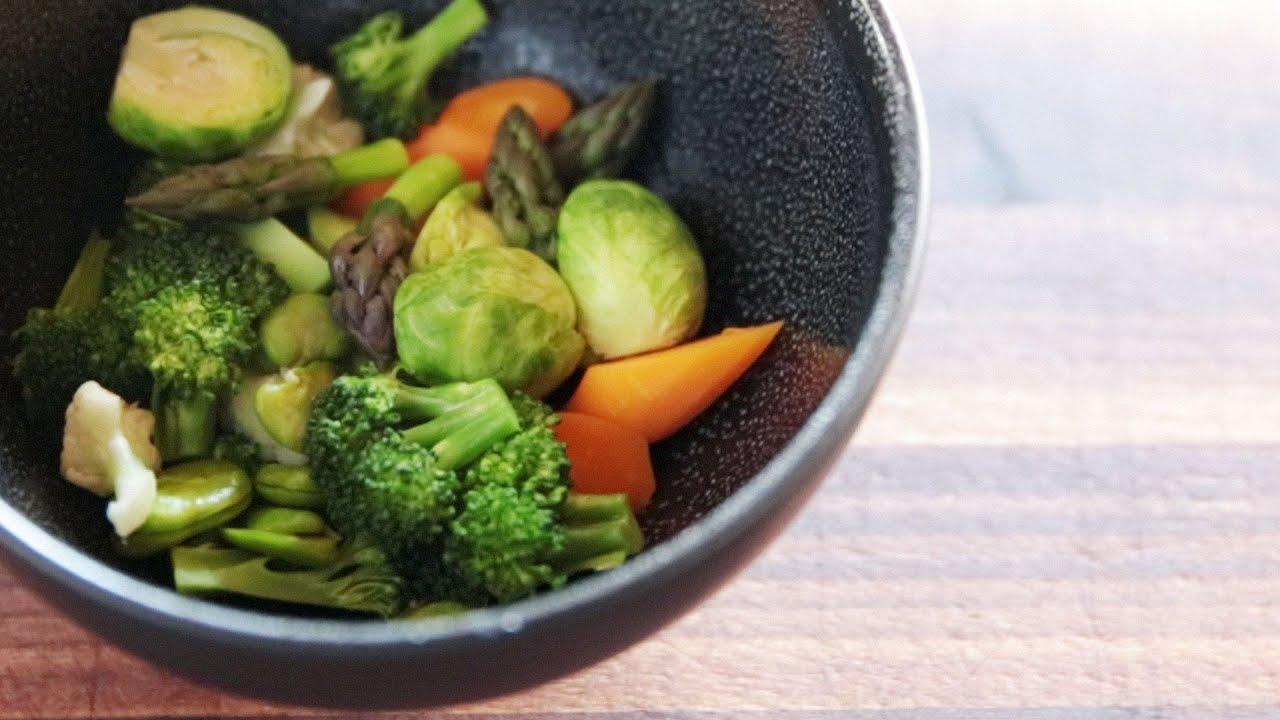 Microwaving Vegetables You