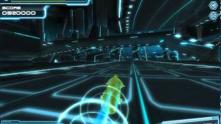 Tron Legacy Lightcycle flash game