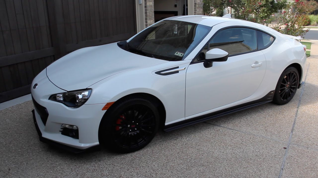 My New Car - 2015 Subaru BRZ Series.Blue Review - YouTube