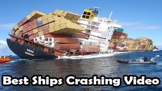 Top boats/ships CRASHING and beaching FAILS (ship crash compilation)