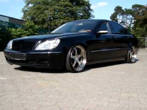 Slammed W220 S500 With Wheels Exhaust By MEC Design