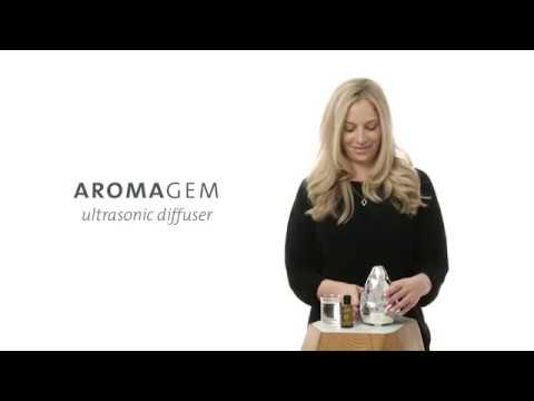 How To Use AromaGem, Ultrasonic Diffuser I Canada
