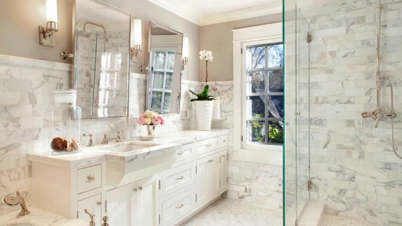 ☆ TOP 40 ☆ Traditional Bathroom Tile Design Ideas - YouTube