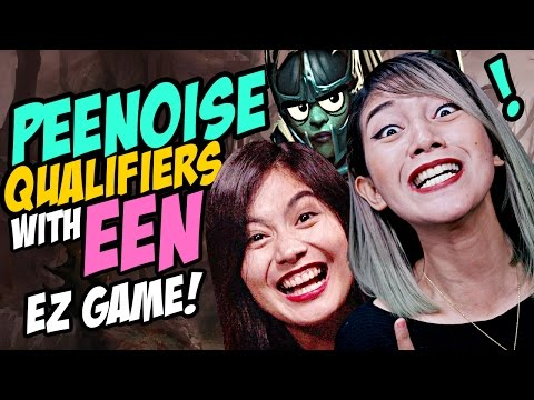 PEENOISE QUALIFIERS WITH EEN!!! Dota 2 Funny Moments / 9K Phantom Assassin