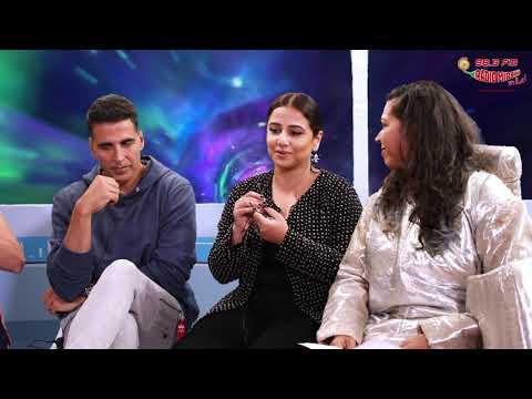 Akshay's FULL ON MASTI with Vidya, Taapsee, Sonakshi & Nithya   Mission Mangal   Mirchi Prerna