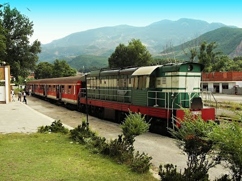 Across Albania - The train ride from Pogradec to  Durrës - ALBANIA