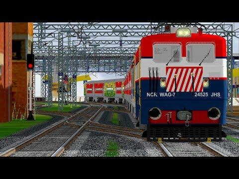 AMRITSAR - CHANDIGARH INTERCITY EXPRESS IN INDIAN TRAIN SIMULATOR