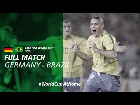 #WorldCupAtHome | Germany v Brazil (Korea/Japan 2002)