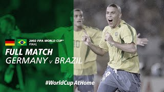 WorldCupAtHome Germany v Brazil Korea Japan 2002