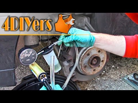 DIY: How to Bleed Brakes Using a Vacuum Pump