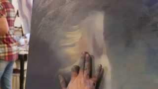 научиться рисовать маслом , картина маслом на холсте, уроки живописи