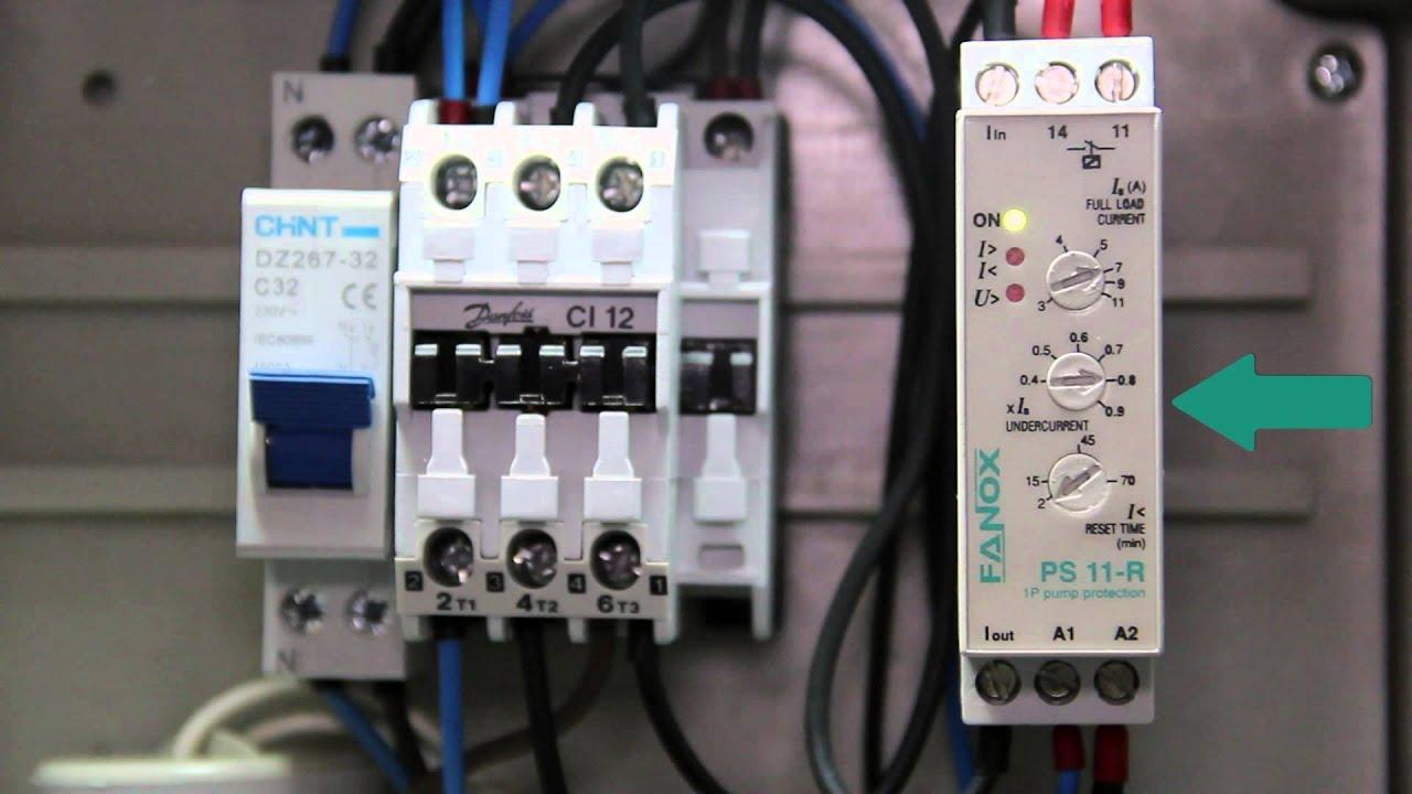 pump protection panels without level sensors for submersible pumps fanox [ 1280 x 720 Pixel ]