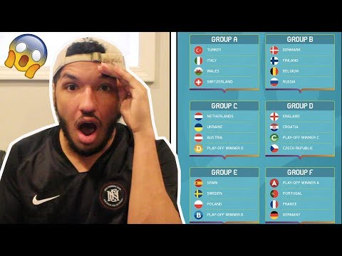 OMFG GROUP F!!! PORTUGAL VS FRANCE VS GERMANY || EURO 2020 DRAW REACTION (Euro 2020 Final Draw)